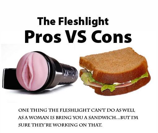 fleshlight vs sex